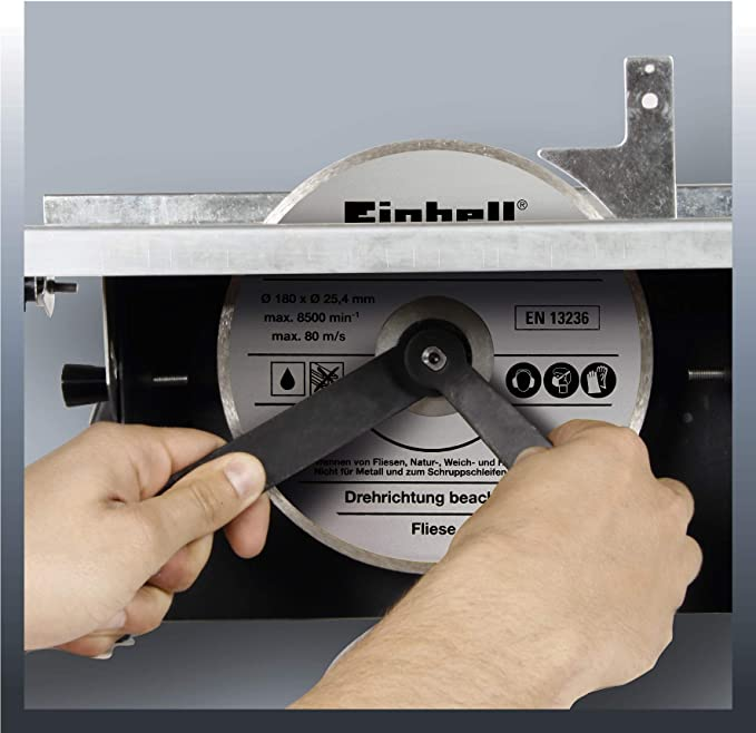 Einhell TH-TC 618 - Mesa de corte cerámico, 3000 rpm, 600 W, 230 V ...