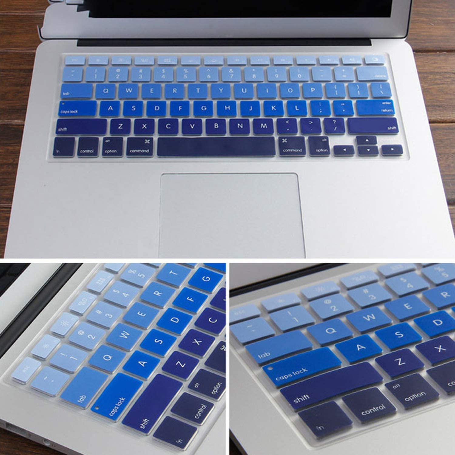 A1370 A1465 Ultra Thin Silicone Compatible for Laptop Keyboard Cover Skin Protector Compatible for MacBook Air 11 1370 A1465 Compatible for Laptop