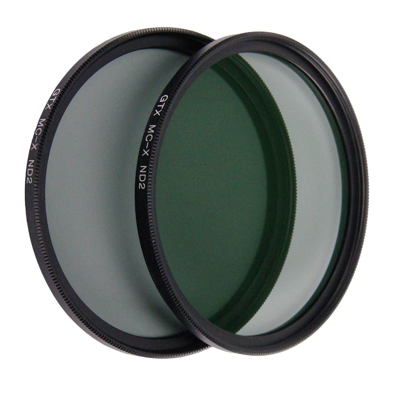Black GTX FILTERS GF-X//ND272 X Series ND2 72mm Camera Lens Neutral Density Filter