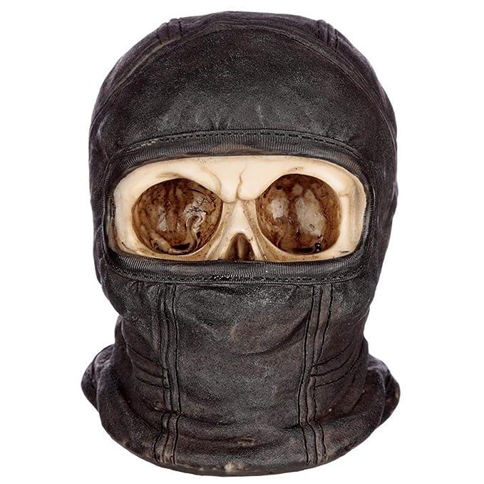 Goth, Skull and steampunk Figura de cráneo Ninja de Resina ...