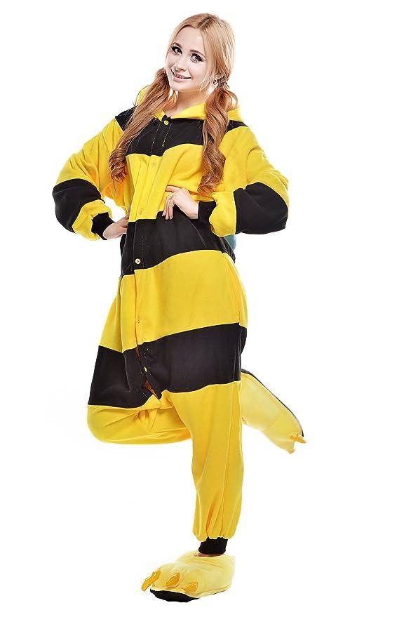 Amazon.com: Newcosplay Halloween Bee Cosplay Unisex-adult Costume Anime Pajamas (Large): Clothing
