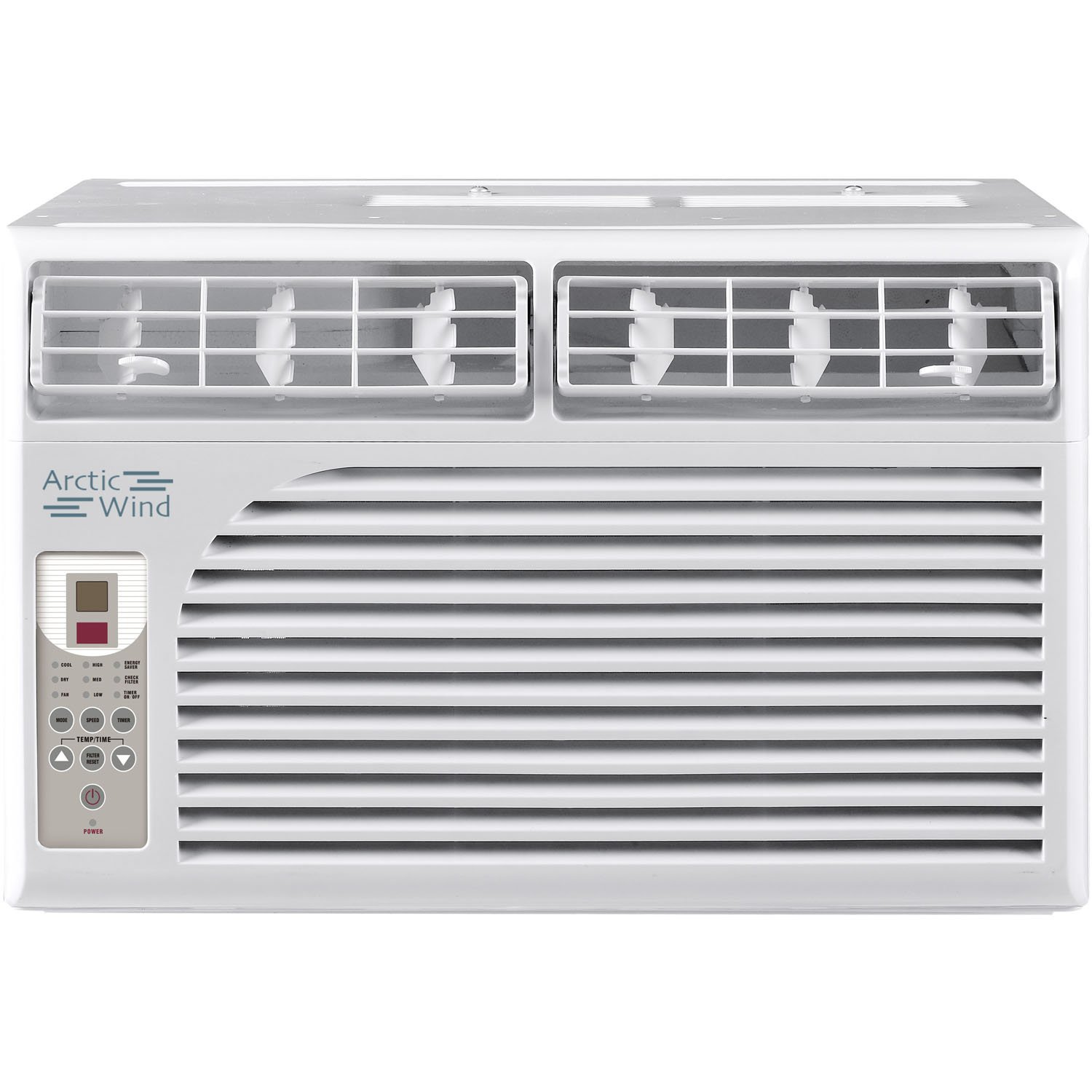 ARCTIC Wind 2016 Energy Star 6,000 BTU Window Air Conditioner, 6000, White