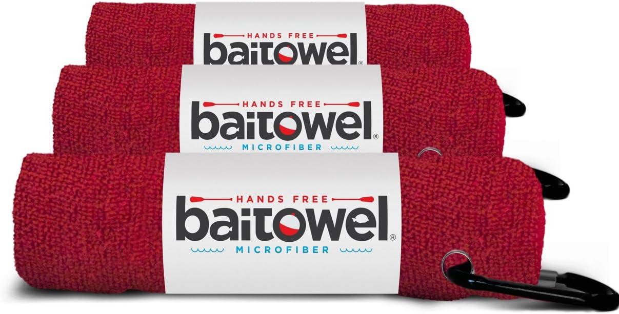 Bait Towel Microfiber 3 Pack Royal Blue