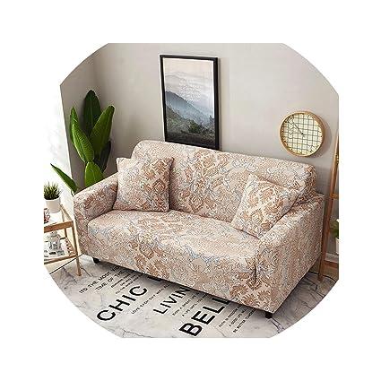 Amazon.com: From Zero Elastic Sofa Cover Stretch Couch Cover ...