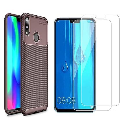 Amazon.com: Compatible con Huawei Y9 2019 Case, con Huawei ...