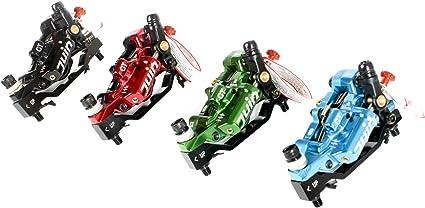 Pair Juin Tech GT-PBlueFour Pot Hybrid Hydraulic Road Disc Brake