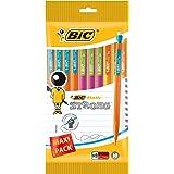 BIC Matic Strong 0.9mm Porte-Mines - Couleurs Assorties, Pochette de 10
