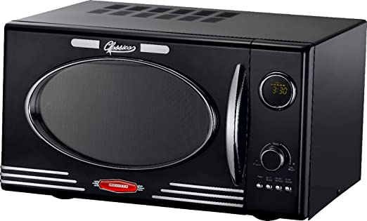 Melissa 16330103 Retro - Microondas con grill (900 W, 25 L) Negro ...