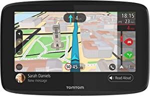 TomTom Go 620 6-Inch GPS Navigation Device with Real Time Traffic, World Maps, Wi-Fi-Connectivity, Smartphone Messaging, Voice Control and Hands-free Calling
