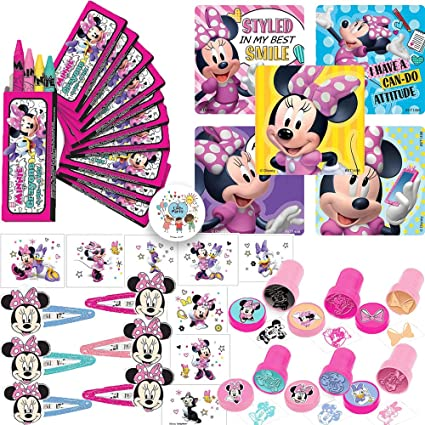 12 PCS Disney Mickey Minnie Mouse Bags Birthday Party Favors Gift Goody bag 15