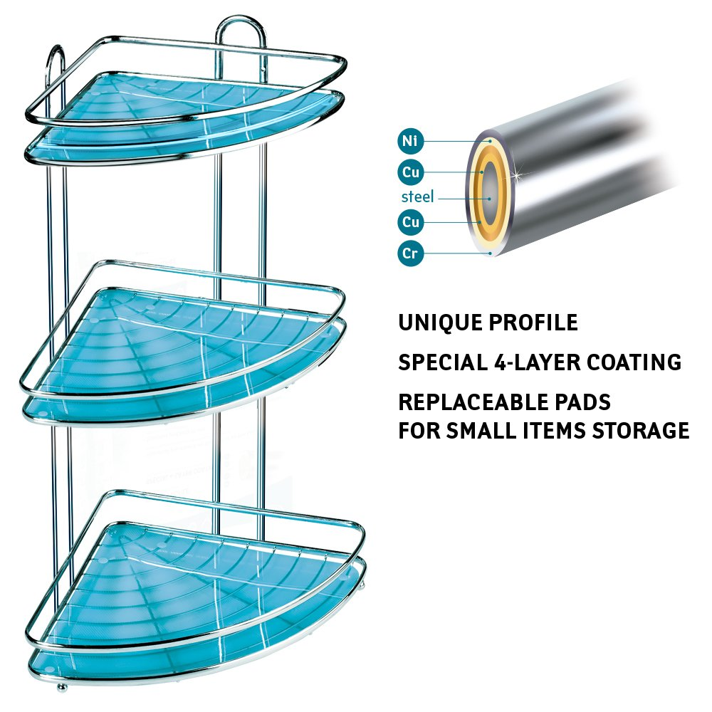 Shower Storage Racks: Amazon.co.uk