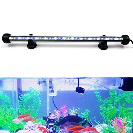 Lámpara LED para acuario GreenSun LED Lighting, de acrílico, decoración para acuario de peces