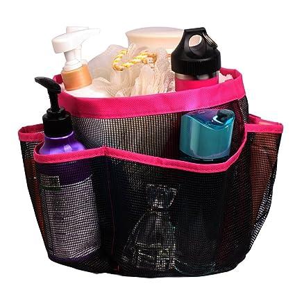 Amazon.com: BabyIn 8 Storage Mesh Shower Caddy,Shower Tote Quick Dry ...
