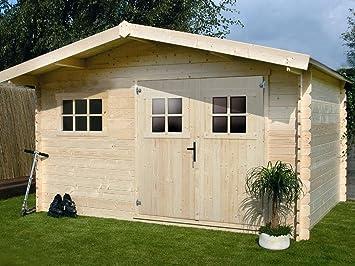 Habitat et Jardin - Caseta de madera para jardín, (19,72