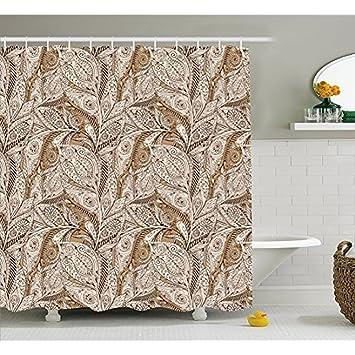 Hs Paisley Duschvorhang Von Vintage Anlage Muster Mit Natürlichen