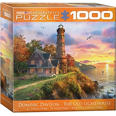 Eurographics 8000-0965 The Old Lighthouse Puzzle (1000-Piece): Toys & Games