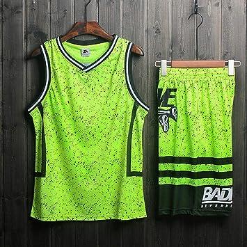 LHDDD NBA Baloncesto Uniformes Camisa retro de hombre y traje ...