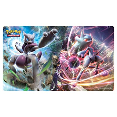 Pokémon TCG: Mega Mewtwo X and Mega Mewtwo Y Playmat: Toys & Games