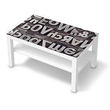 Dekor-Folie für IKEA Lack Tisch 90x55 cm   Möbeldekor Klebesticker ...