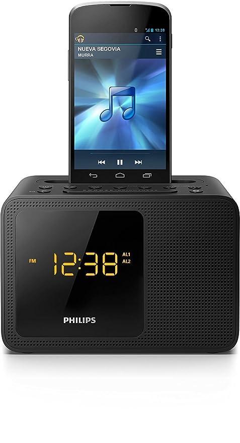 Radio Reloj Despertador PHILIPS AJT5300/37 con Bluetooth