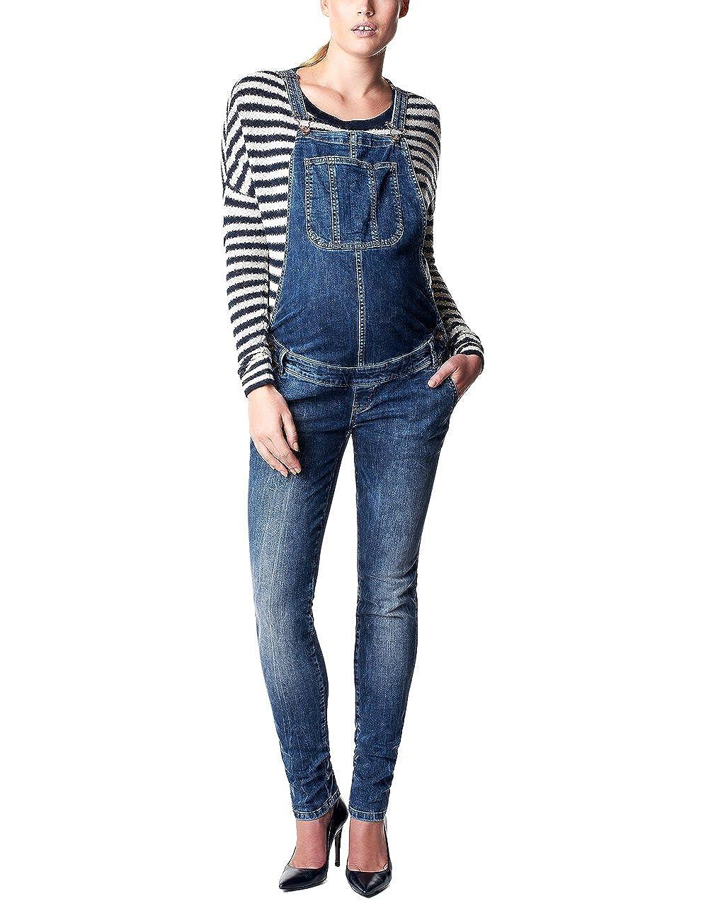 Noppies Damen Latz Umstands Jeans salopette Ava