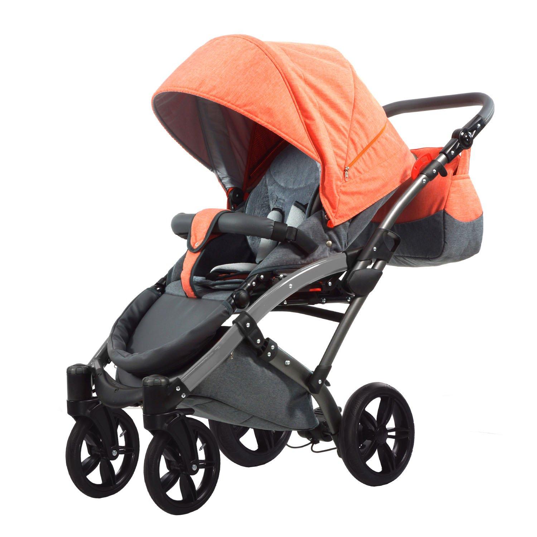 beige-braun Knorr-Baby 3200-05 Kombikinderwagen Voletto Happy Colour