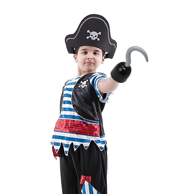 Amazon.com: Accesorios para disfraz de capitán Skeleteen ...