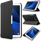 iHarbort Samsung Galaxy Tab A 7.0 Case - Ultra Slim Lightweight shell Holder Stand Leather Case Cover for Samsung Galaxy Tab A 7.0 Inch SM-T280 T285 (Galaxy Tab A 7.0, Black)