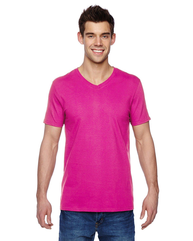 SFVR Fruit of the Loom 4.7 oz. 100/% SofspunTM Cotton Jersey V-Neck T-Shirt