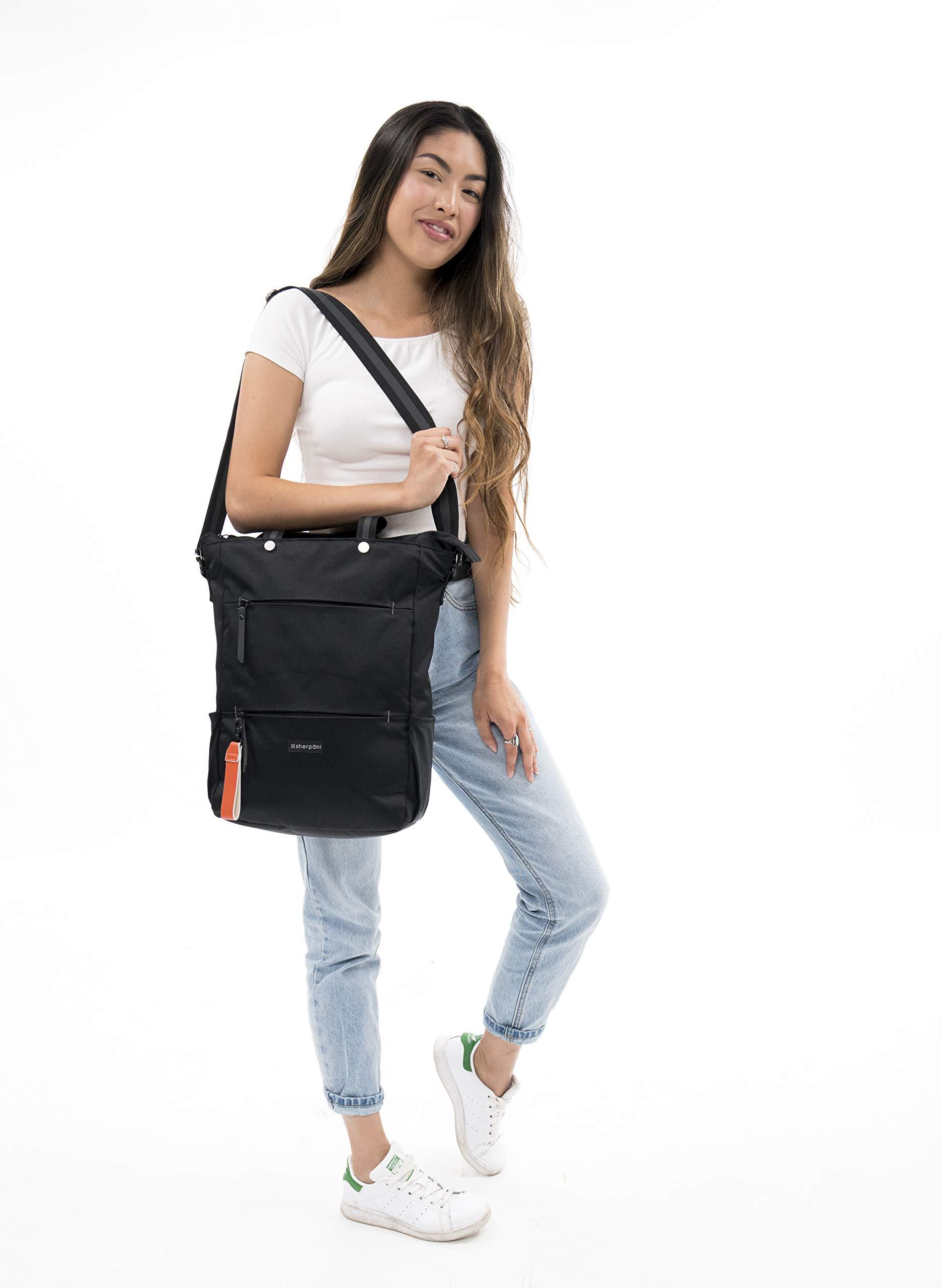 Sherpani Camden Raven Laptop Backpack, Raven by Sherpani (Image #8)