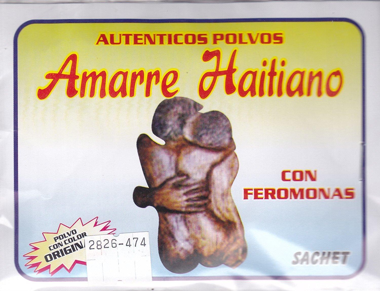 1 pkt. POLVO MISTICO AMARRE HAITIANO SACHET POWDER 1/2 oz pkt ....