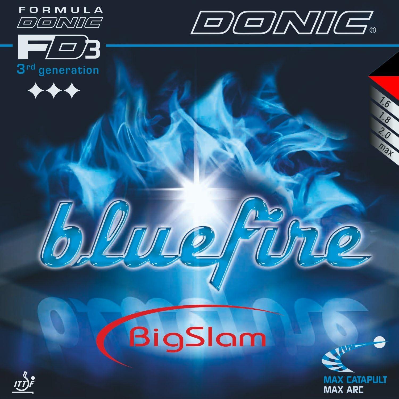 Tenis de Mesa Combinado DONIC Bluefire Big Slam, 2.00mm, Rojo