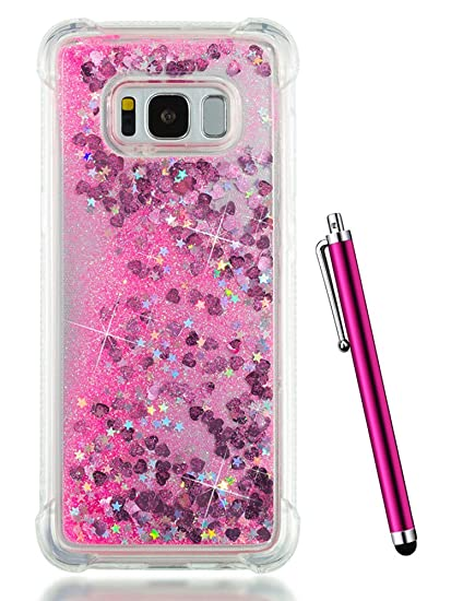 the latest 9aaaa 714ef Amazon.com: Galaxy S8 Case for Women,S8 Glitter Case for Girls ...