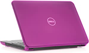 "mCover Hard Shell Case for 15.6"" Dell Inspiron 15 5565/5567 Laptop (NOT Compatible with Other Dell Inspiron 5000 Series Models) (Purple)"