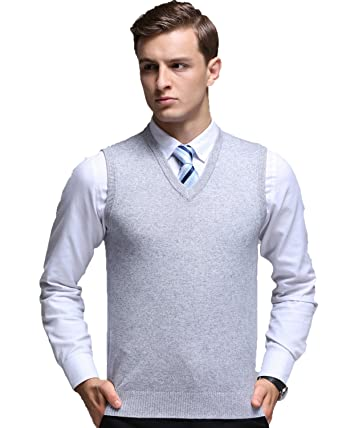 Kinlonsair Oversized Mens Casual Slim Fit Solid Lightweight V-neck ...