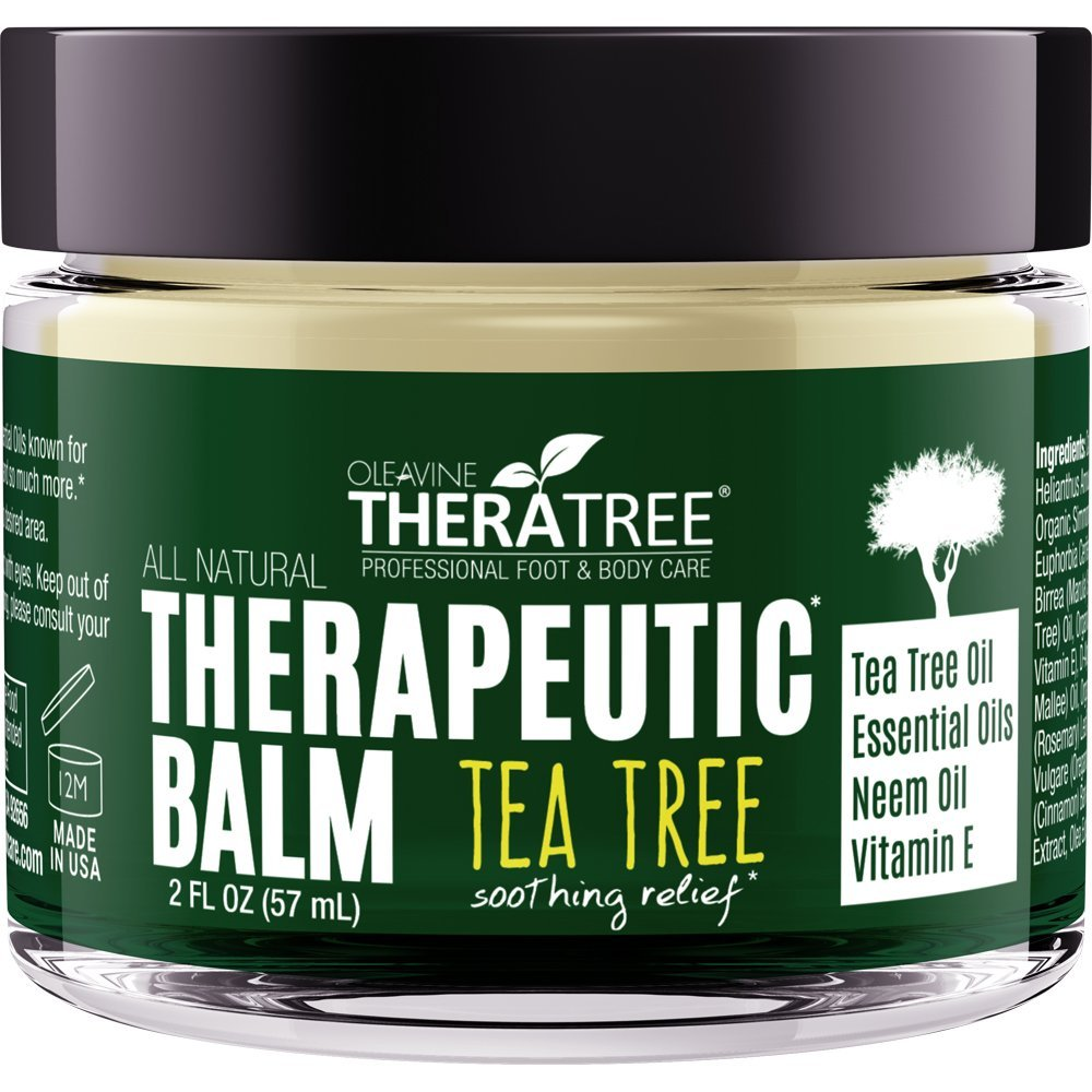 Tea Tree Oil Balm With Neem Oil Helps Fight Common Causes Of Skin