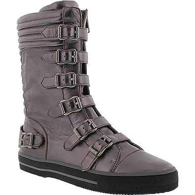 b9fa6b9a47b48 Ash Girls' Vava Natalie Sneaker, Gunmetal, 32 M EU Little Kid (1