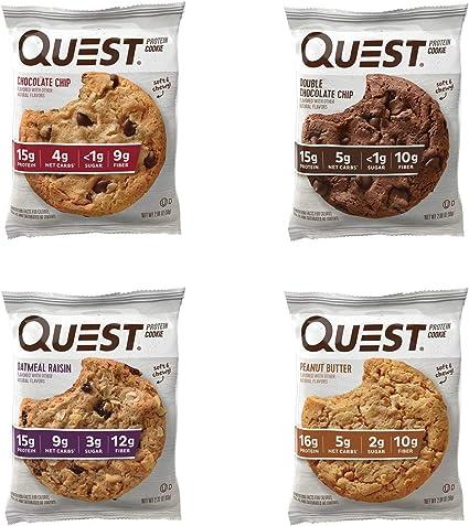 Amazon.com: Quest Nutrition paquete de variedad de galletas ...