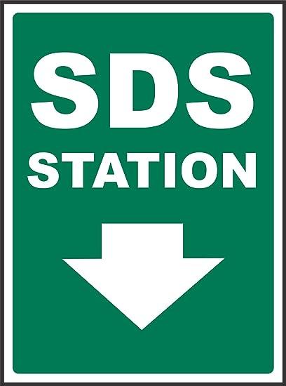 Etiqueta - Seguridad - Advertencia - 2-Way SDS Station Sign ...