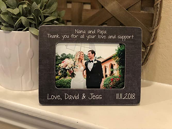 Amazon.com: Wedding Thank You For Grandparents | Wedding ...