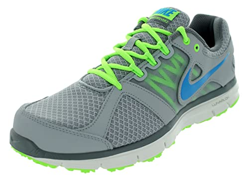 b03e8cffa370 Nike Men s Lunar Forever 2 (Wolf Grey Flash Lime) Running Shoes 8 ...