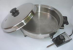 Saladmaster Oil Core Electric Skillet Model 7252