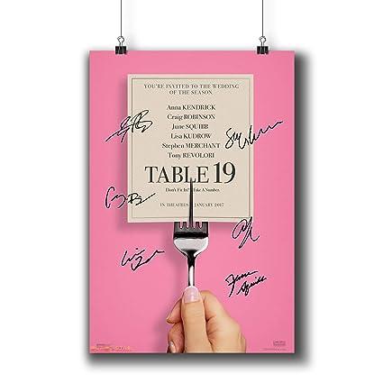Amazon Com Pentagonwork Table 19 2017 Movie Photo Poster