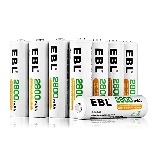 Review EBL 16 Pack AA