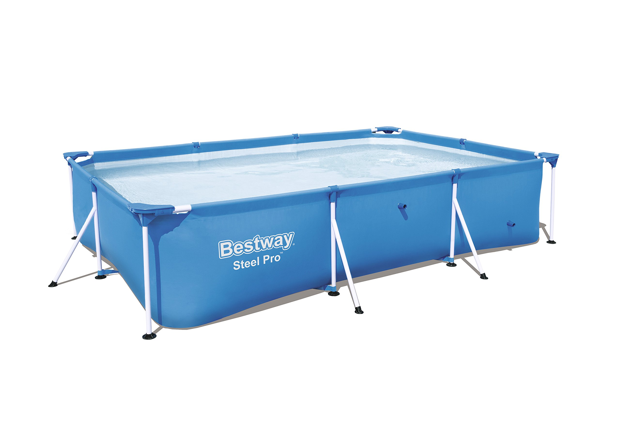 Bestway 56498E Steel Pro above Ground Pool, 118'' x 79'' x 26''