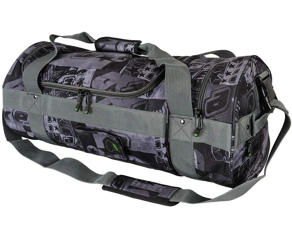 Planet Eclipse Paintball Holdall Gear Bags (Estar Retro Black/Grey) by Planet Eclipse
