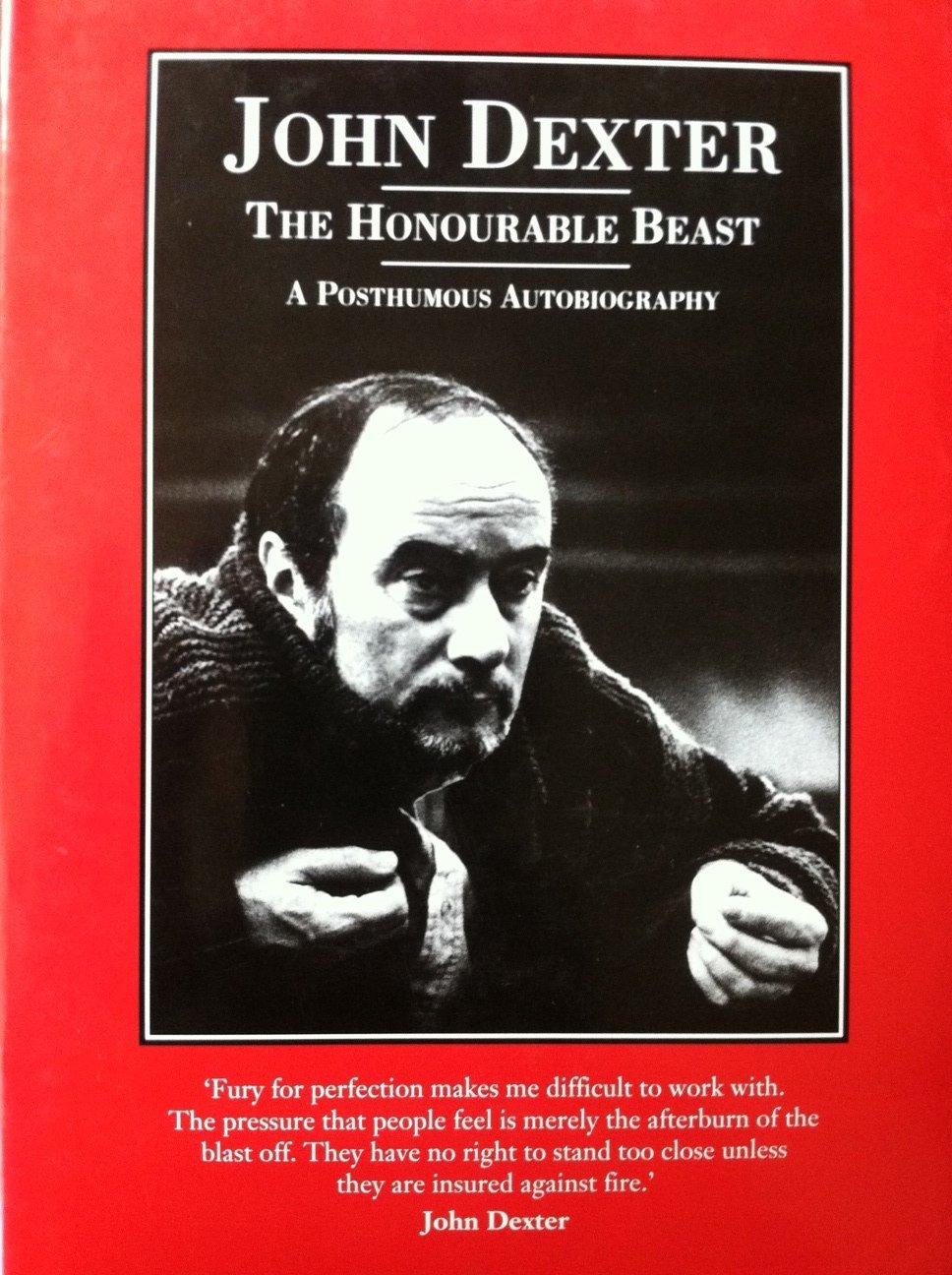 The Honourable Beast  A Posthumous Autobiography