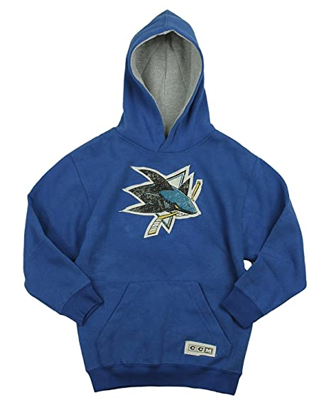Amazon.com   Reebok NHL San Jose Shark Big Boys Youth Vintage ... 2e6729770
