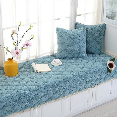 Dark Gray Non-Slip Bay Window Pad//Windowsill Mat//Sofa Mat//Sofa Cushion 70x150cm