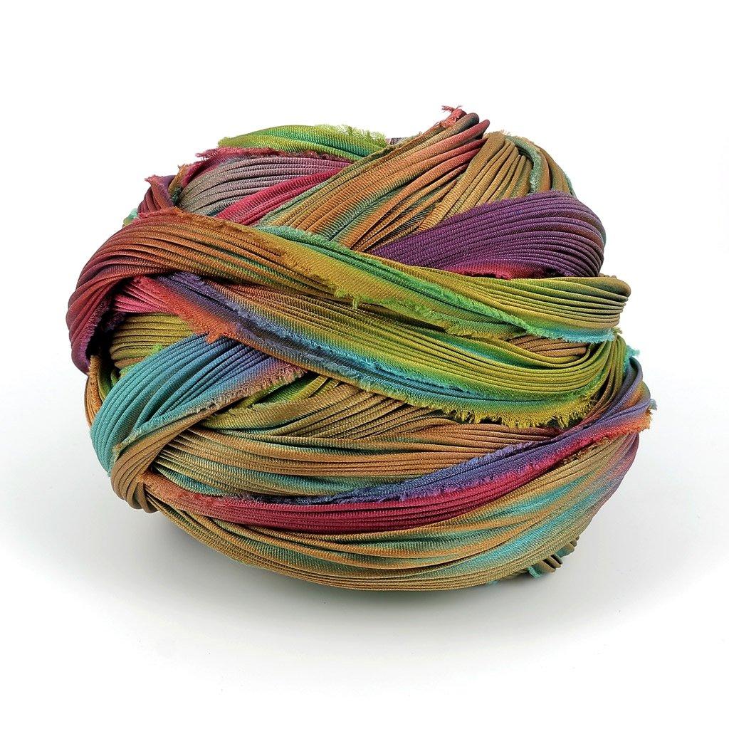 Silk ribbon Shibori Katrina x10cm Inconnu